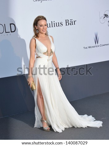 Kylie Minogue at amfAR's 20th Cinema Against AIDS Gala at the Hotel du Cap d'Antibes, France May 23, 2013  Antibes, France - stock photo