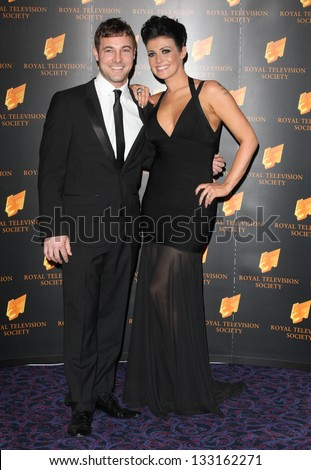 Kym Marsh arriving for the RTS Awards 2013, at The Grosvenor House Hotel, London. 19/03/2013 Picture by: Alexandra Glen