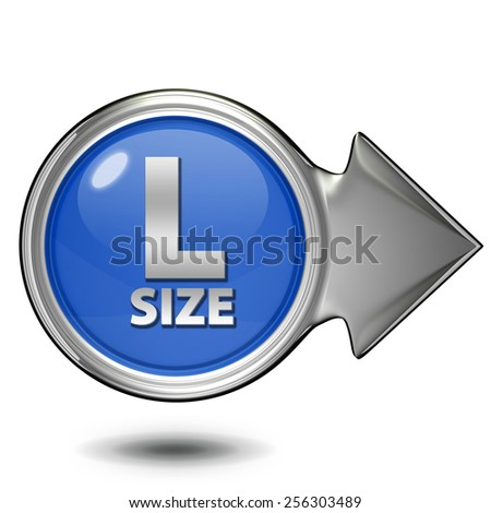 L size circular icon on white background