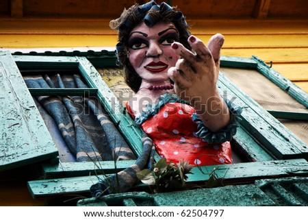 La Boca neigborhood in Buenos Aires, Argentina - stock photo
