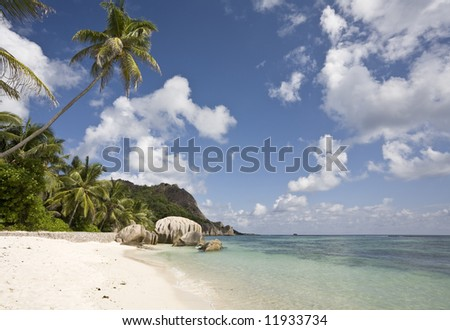 La Digue, Republic of Seychelles, Indian Ocean