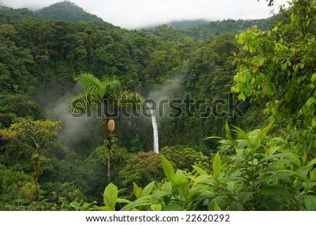 La Fortuna Falls - stock photo