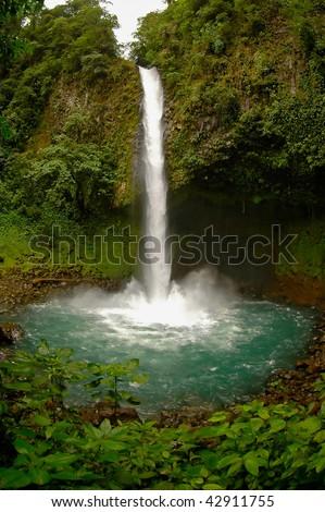 La Fortuna Waterfall, Costa Rica - stock photo