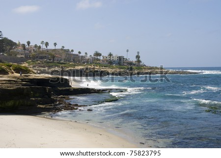 La Jolla, CA - stock photo