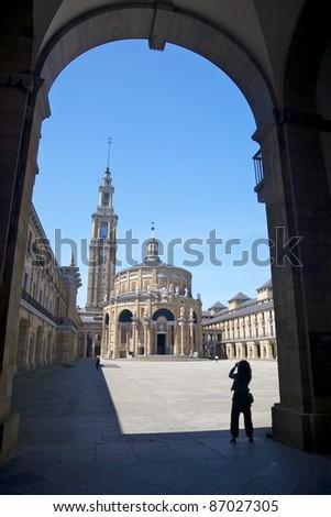 La Laboral public City of Culture in Gijon Asturias Spain - stock photo
