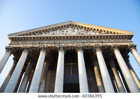 La Madeleine church, Paris
