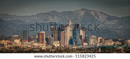 LA Panorama - stock photo