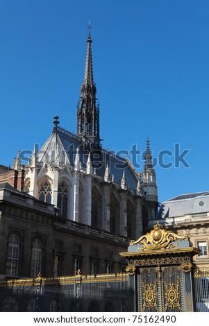 la sainte chapelle the holy chapel is a gothic chapel on the ile chapelle de la sorbonne chappelle de la