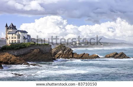 biarritz france stock images royalty free images vectors shutterstock. Black Bedroom Furniture Sets. Home Design Ideas
