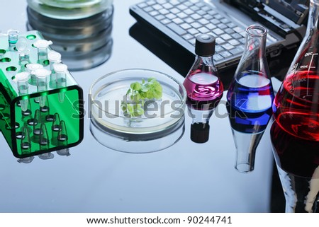 lab - stock photo