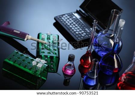 lab - stock photo