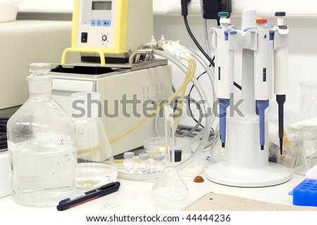 Lab tools - stock photo