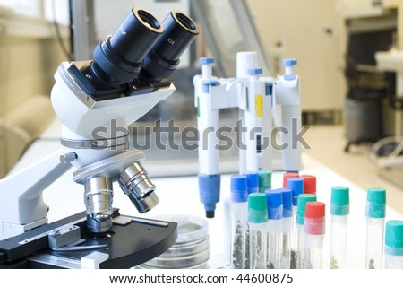 Lab tools - stock photo