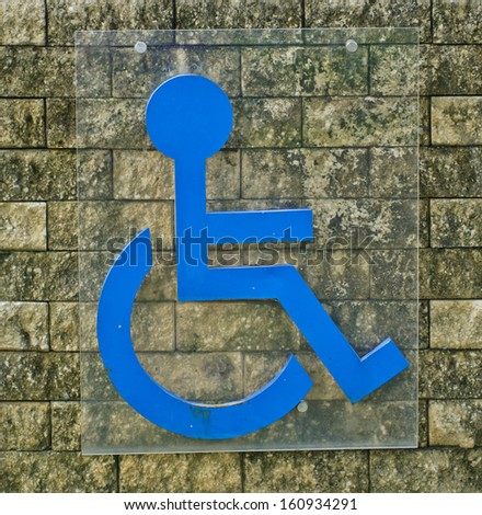 Labeled disabled