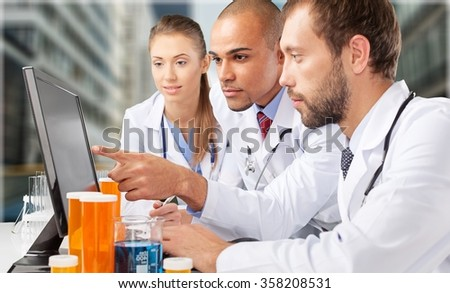 Laboratory. - stock photo