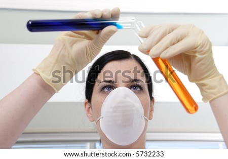 laboratory 8 - stock photo