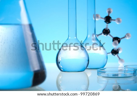 Laboratory equipment - stock photo