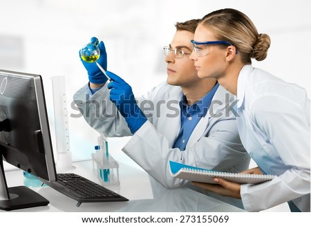 Laboratory, Healthcare And Medicine, Research. - stock photo