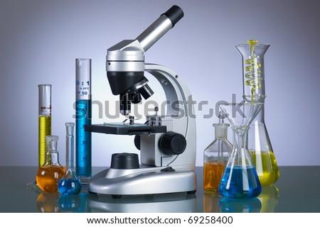 laboratory instrument - stock photo