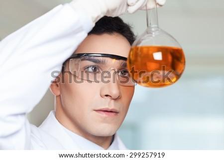 Laboratory, Science, Scientist. - stock photo