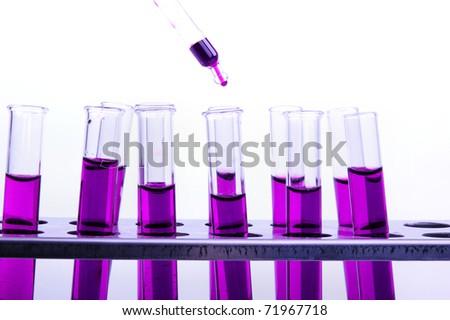 Laboratory test - stock photo