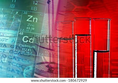 Laboratory tools. Laboratory concept.  - stock photo