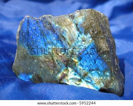 Labradorite (gemstone) - stock photo