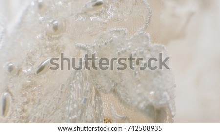 lace wedding dress with artificial crystals and stones. Shop wedding dresses