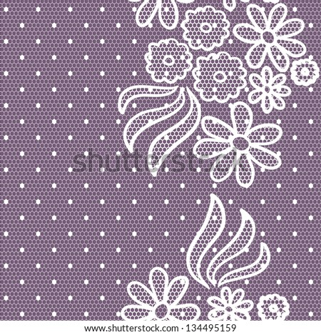Lacy vintage gentle background. Seamless pattern. - stock photo