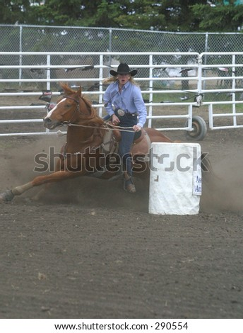 ladies' barrel racing
