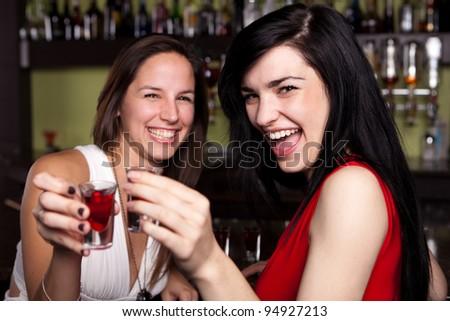Ladies Night - stock photo