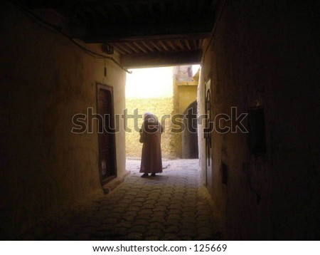 Lady in Morocco
