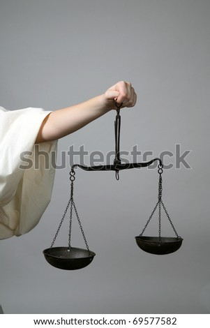 Lady Justice - stock photo