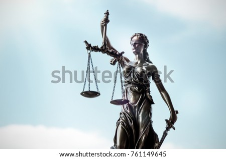 Scales Of Justice Lady Supreme Court