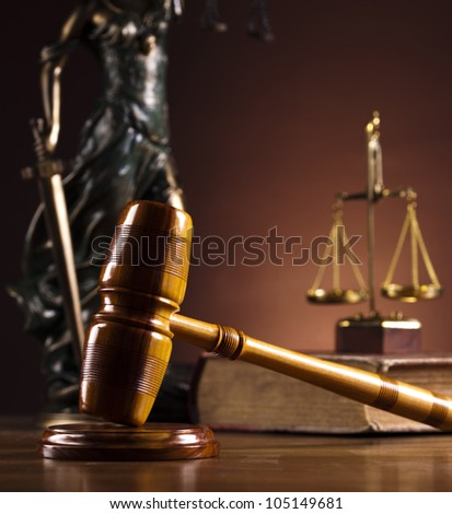 Lady of justice, Law - stock photo