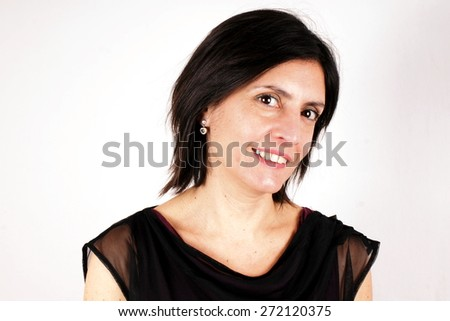 Lady portrait - stock photo