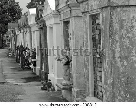 Lafayette Cemetery (New Orleans) - stock photo