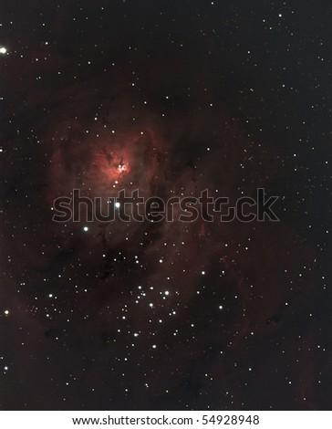 Lagoon Nebula - stock photo