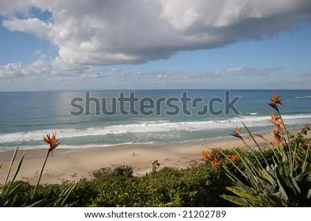 Laguna Niguel beach - stock photo