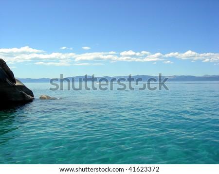 Lake - stock photo