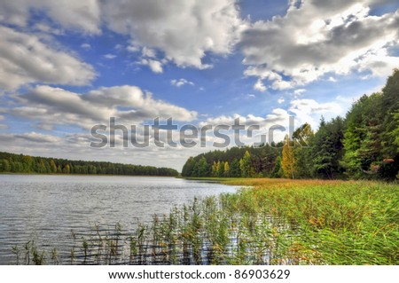 Lake - stock photo
