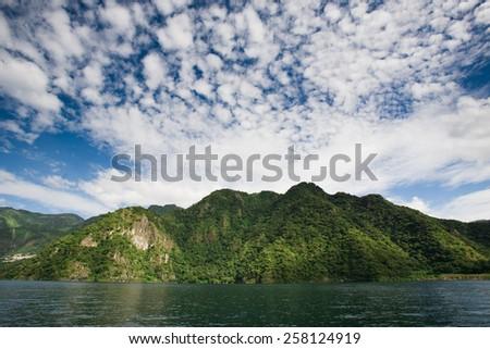 Lake Atitlan, Guatemala / Lake Atitlan - stock photo