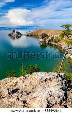 Lake Baikal.  - stock photo