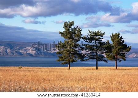Lake Baikal - stock photo