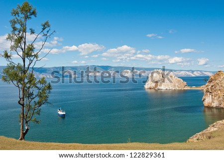 lake Baikal, Siberia, Russia - stock photo