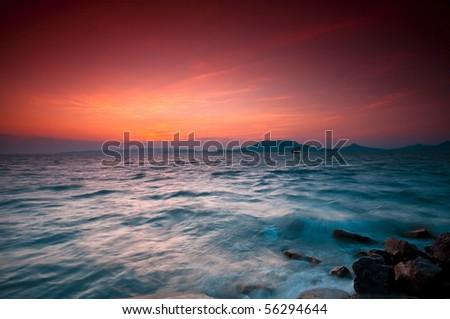 Lake Balaton-Hungary - stock photo