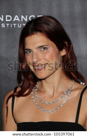 Lake Bell at the Sundance Institute Benefit Presented by Tiffany & Co., Soho House, Los Angeles, CA 06-06-12 - stock photo