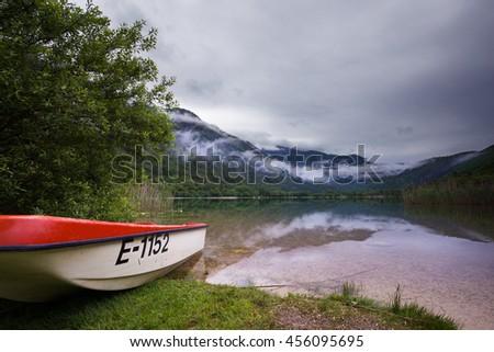 Lake Boracko, Bosnia - stock photo