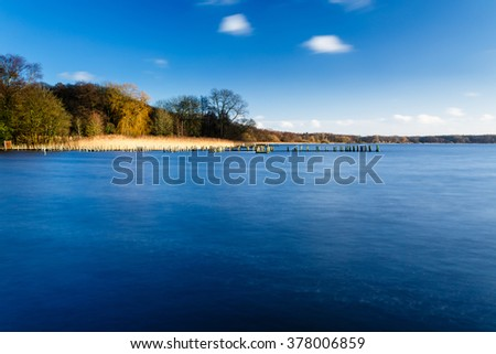 lake called Zwischenahner Meer in Lower Saxony, Germany