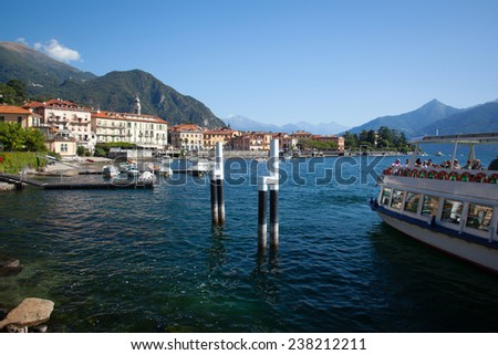 Lake Como Photography: View of Menaggio in Summer